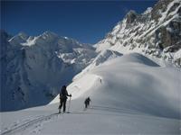 Skitour mit Beni