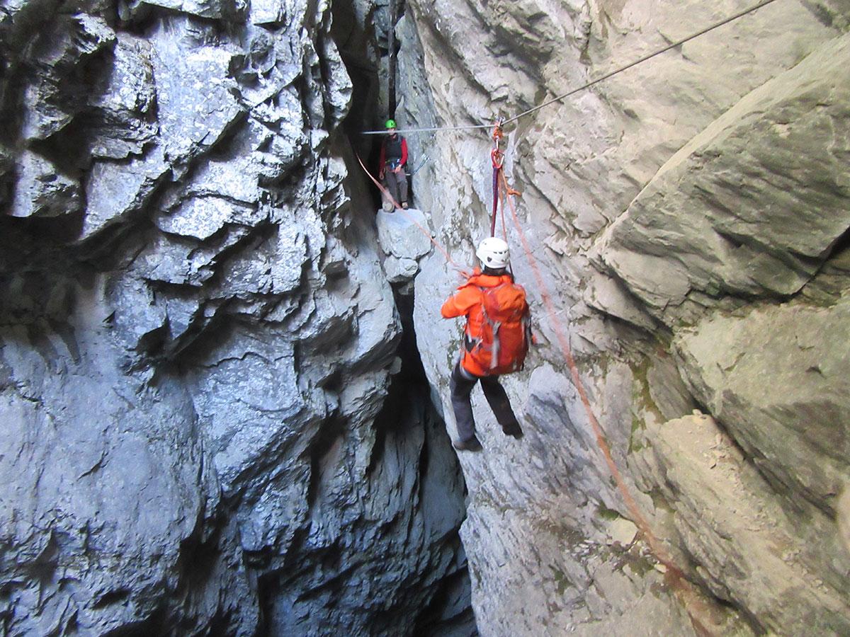 Hexensteig Klettersteig : Hexensteig klettersteig